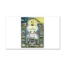 Darkness To Light Car Magnet 20 x 12