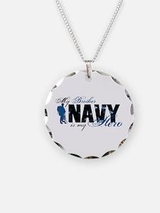 Bro Hero3 - Navy Necklace