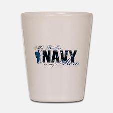 Bro Hero3 - Navy Shot Glass