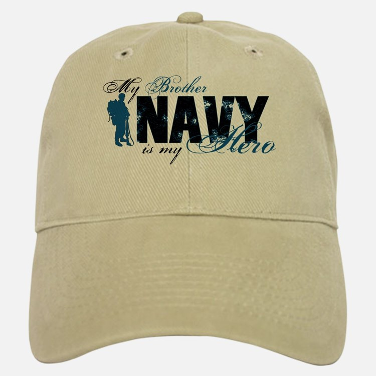 Bro Hero3 - Navy Baseball Baseball Cap