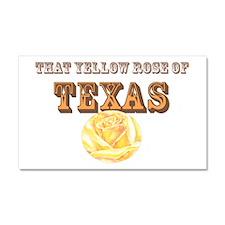 yellow rose of TEXAS Car Magnet 20 x 12