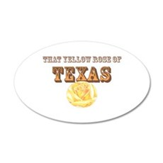 yellow rose of TEXAS Wall Decal