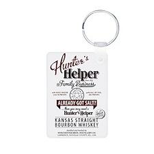 Hunter's Helper - White (1) Keychains