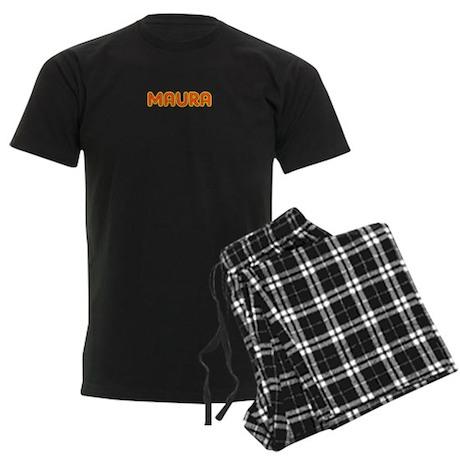 Maura in Movie Lights Men's Dark Pajamas