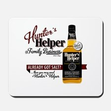 Hunter's Helper - White (2) Mousepad