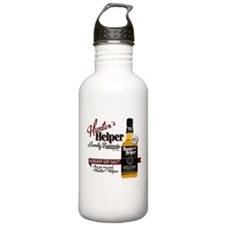 Hunter's Helper - White (2) Sports Water Bottle