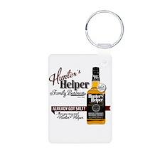 Hunter's Helper - White (2) Keychains