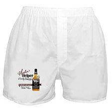 Hunter's Helper - White (2) Boxer Shorts