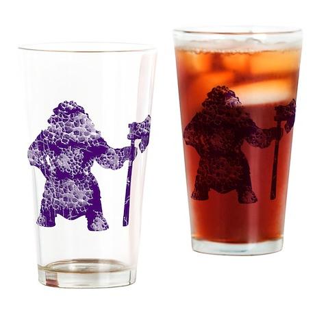 Vintage, Viking Drinking Glass