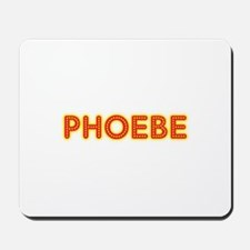 Phoebe in Movie Lights Mousepad