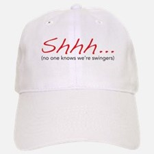 Shhh... Baseball Baseball Cap