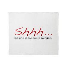 Shhh... Throw Blanket