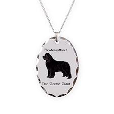 Newfoundland Dog Gentle Giant Necklace