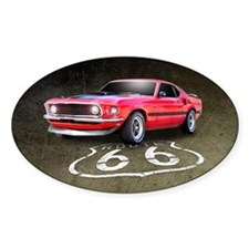 Route 66 Mustang Decal