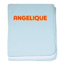 Angelique in Movie Lights baby blanket
