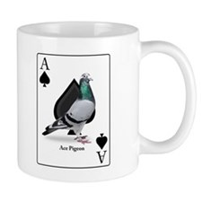 Ace of Spades Racing Pigeon - Regular Mug