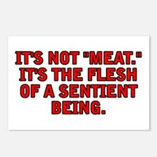 It's not meat Postcards (Package of 8)