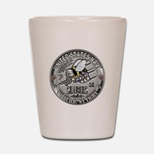 Seabees Construction Electric Shot Glass