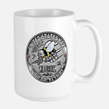 Seabees Construction Electric Mug