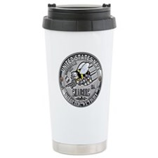 Seabees Engineering Aide EA C Travel Mug