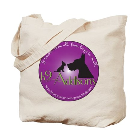 k9Addisons Logo Tote Bag
