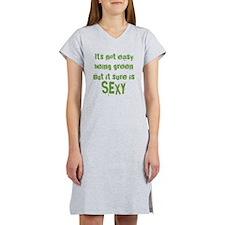 Sexy Green Women's Nightshirt