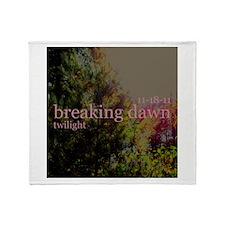 Twilight Breaking Dawn Sun 11 Throw Blanket
