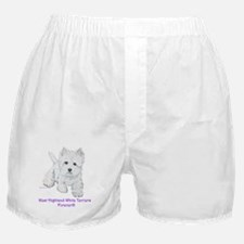 Westies Forever!! Boxer Shorts