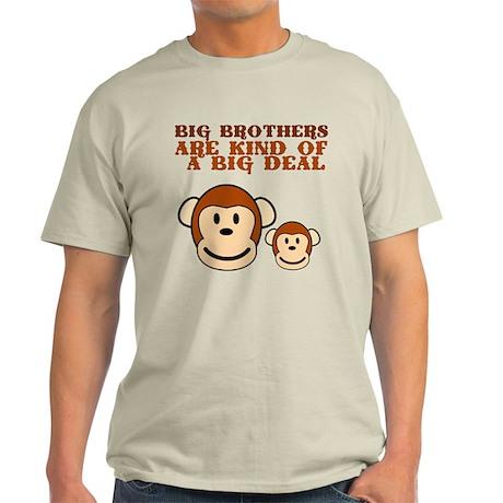 BIG BROTHER monkey Light T-Shirt