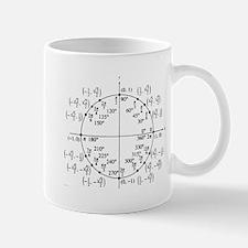 trig unit circle Mug