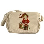 Jollybelle Christmas Elf Messenger Bag