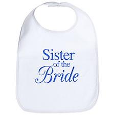 Sister of the Bride (blue) Bib