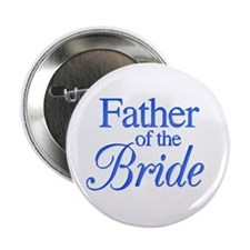 Father of the Bride (blue) Button