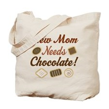 New Mom Needs Chocolate Tote Bag