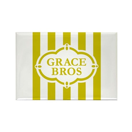Grace Brothers Rectangle Magnet