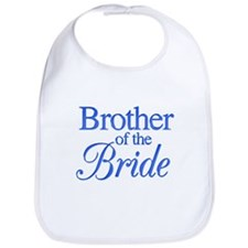 Brother of the Bride (blue) Bib