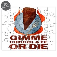 Gimme Chocolate or Die Puzzle