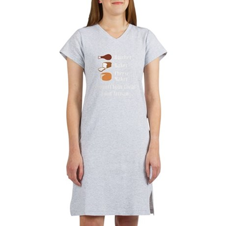 Food Artisan Women's Nightshirt