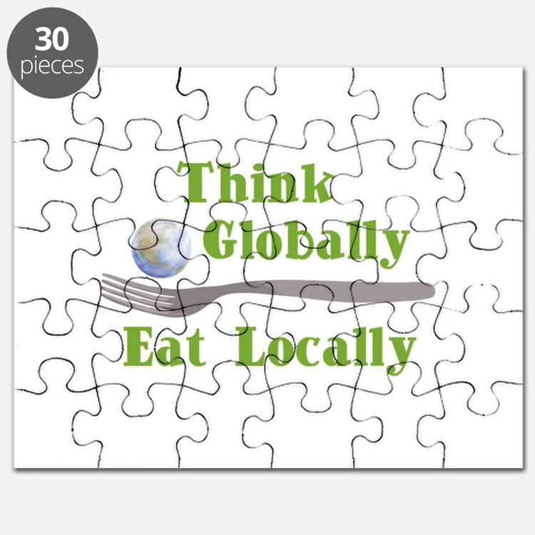 Eat Locally Puzzle