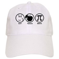 Math Teacher Baseball Cap