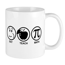 Math Teacher Mug