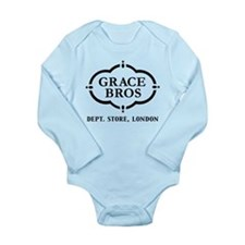 Grace Brothers Long Sleeve Infant Bodysuit