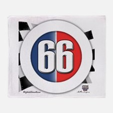 Cars Round Logo 66 Throw Blanket