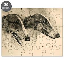 Borzoi Heads Puzzle