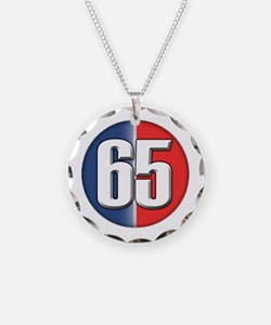 Cars Round Logo 65 Necklace