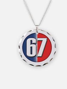 Cars Round Logo 67 Necklace