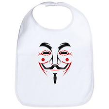 Guy Fawkes - Anonymous Mask Bib
