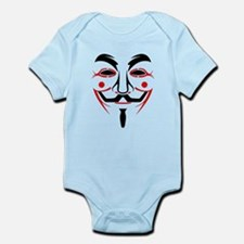 Guy Fawkes - Anonymous Mask Infant Bodysuit