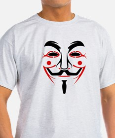 Guy Fawkes - Anonymous Mask T-Shirt