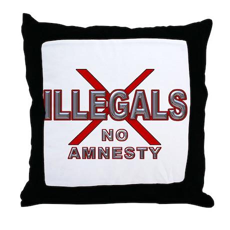 IllegalsX NoAm D21 Throw Pillow